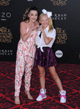 Photo - 24 May 2016 - Hollywood California - Kendall Vertes Jojo Siwa Arrivals for the Premiere Of Disneys Alice Through The Looking Glass held at El Capitan Theater Photo Credit Birdie ThompsonAdMedia