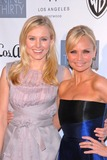 Kristen Bell,Kristin Chenoweth Photo - Geffen Playhouses Annual Backstage At The Geffen Gala
