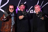 Geddy Lee,Alex Lifeson Photo - RUSH Inducted Into Guitar Centers RockWalk