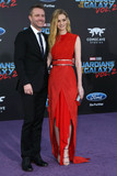 Chris Hardwick,Lydia Hearst Photo - Guardians of the Galaxy Vol 2  Los Angeles Premiere