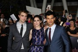 Kristen Stewart,Robert Pattinson,Taylor Lautner Photos - LOS ANGELES - NOV 14  Robert Pattinson Kristen Stewart Taylor Lautner arrives at the Twilight Breaking Dawn Part 1 World Premiere at Nokia Theater at LA LIve on November 14 2011 in Los Angeles CA