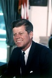 President John F. Kennedy,The Whites,Kennedy,John F. Kennedy Photos - Portrait Photograph of United States President John F Kennedy taken at the White House in Washington DC on July 11 1963Photo by Cecil StoughtonWhite HouseCNP-PHOTOlinknet