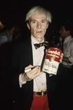 Andy Warhol Photos - New York NY 1981 FILE PHOTOAndy Warhol (unidentified women)Digital photo by Adam Scull-PHOTOlinknet