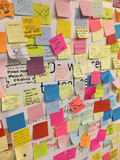 Photos From Anti-Trump Stickies (Post Its)