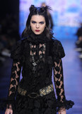 Photos From Kendall Jenner on the runway at The Anna Sui Show during New York Fashion Week