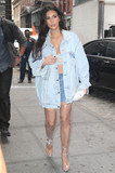 Photos From Kim Kardashian is seen in New York City