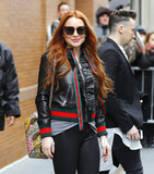 Photos From Lindsay Lohan is seen in New York City
