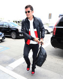 Photos From Orlando Bloom is seen at LAX Airport in Los Angeles, CA