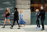 Timothy Olyphant Photo - Timothy Olyphant and family in Soho