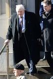 Philip Seymour Hoffman Photo - February 7 2014 New York CityBrian Dennehy attending Philip Seymour Hoffmans funeral at St Ignatius Loyola Church in Manhattan on February 7 2014 in New York City