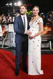 Sam Claflin Photo - Laura Haddock  Sam Claflin at the world premiere of The Hunger Games Mockingjay Part 2 at the Odeon Leicester Square LondonNovember 5 2015  London UKPicture James Smith  Featureflash