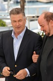 Photo - Alec Baldwin  director James Toback at photocall for their movie Seduced and Abandoned at the 66th Festival de CannesMay 21 2013  Cannes FrancePicture Paul Smith  Featureflash