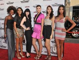 Lisa Blades Photo - Project Runway Models Fatma Dabo (left) Ebony Jointer Kojii Helnwein Lisa Blades Katie Sticksel  Tamisha Harper at the Los Angeles premiere of Inglourious Basterds at the Graumans Chinese Theatre HollywoodAugust 10 2009  Los Angeles CAPicture Paul Smith  Featureflash