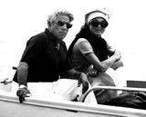 Jacqueline Kennedy Onassis Photo - Jacqueline Kennedy Onassis and Aristotle Onassis 25076 Hellas PressGlobe Photos Inc Jacquelinekennedyonassisobit