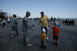 US Army,Coney Island Photo - Us Army 237th Birthday Celebration