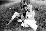 Marilyn Monroe,Arthur Miller Photos - Marilyn Monroe at Arthur Millers Estate Near Roxbury Conn Photo Bympc ProductionipolGlobe Photos Inc
