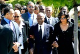 Johnnie Cochran,Jacksons,Johnnie L. Cochran,Jesse Jackson Photo - Funeral of Johnnie L Cochran Jr