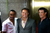 Mark Burnett,Sugar Ray,Sugar Ray Leonard,Sylvester Stallone Photo - Archival Pictures - Globe Photos - 61336