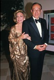 Andrea Mitchell Photo - Alan Greenspan with Andrea Mitchell 5-31-1990 15909 Supplied by Pool-ipol-Globe Photos Inc