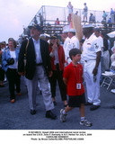 Caroline Kennedy Photo -  Opsail 2000 and International Naval Review on Board the Uss John F Kennedy in NY Harbor For July 4 2000 Caroline Kennedy Photo by Bruce CotlerGlobe Photosinc