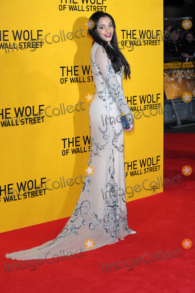 Amal Fashanu Photo - Amal Fashanu attends the UK Premiere of The Wolf of Wall Street at Londons Leicester Square on January 9 2014 in London England Credit Capital Picturesface to face- Germany Austria Switzerland and USA rights only -