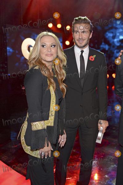 Anastacia Photo - Anastacia David Beckham attending the GQ Award (Maenner des Jahres 2013) at Komische Oper Berlin 07112013Credit E Schroederface to face