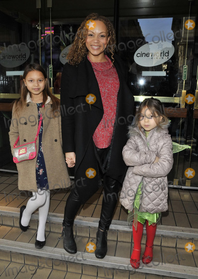 Angela Griffin Photo - LONDON ENGLAND - FEBRUARY 02 Angela Griffin  her kids attend the Tinkerbell  the Pirate Fairy VIP screening Cineworld Haymarket cinema Haymarket on Sunday February 02 2014 in London England UKCAPCANCan NguyenCapital Picturesface to face- Germany Austria Switzerland and USA rights only -