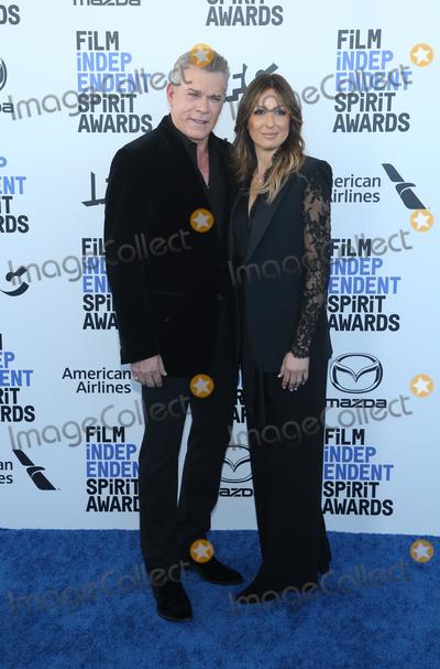 Ray Liotta Photo - 8 February 2020 - Santa Monica California - Ray Liotta Jacy Nittolo 2020 Film Independent Spirit Awards held at Santa Monica Pier Photo Credit FSAdMedia