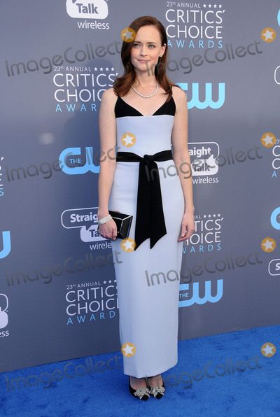 Alexis Bledel Photo - 11 January 2018 - Santa Monica California - Alexis Bledel 23rd Annual Critics Choice Awards held at Barker Hangar Photo Credit Birdie ThompsonAdMedia