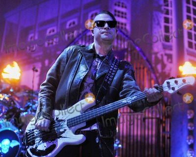 Johnny Christ Photo - 21 May 2011 - Columbus Ohio - Bassist JOHNNY CHRIST of the band AVENGED SEVENFOLD performs as part of the Rock On The Range festival held at Columbus Crew Stadium Photo Credit Jason L NelsonAdMedia