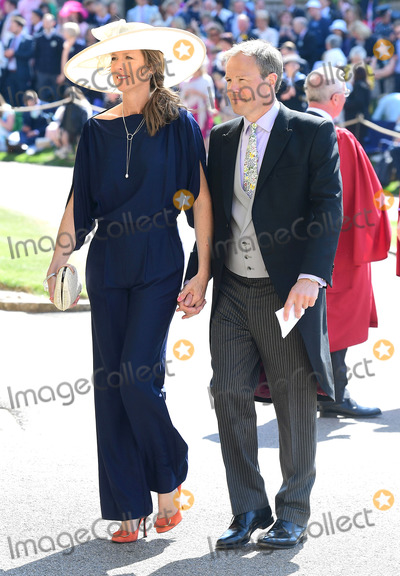 Jonny Wilkinson Photo - 19 May 2018 - Jonny Wilkinson and Shelley Jenkins at St Georges Chapel at Windsor Castle during Prince Harry and Meghan Markle wedding Photo Credit ALPRAdMedia