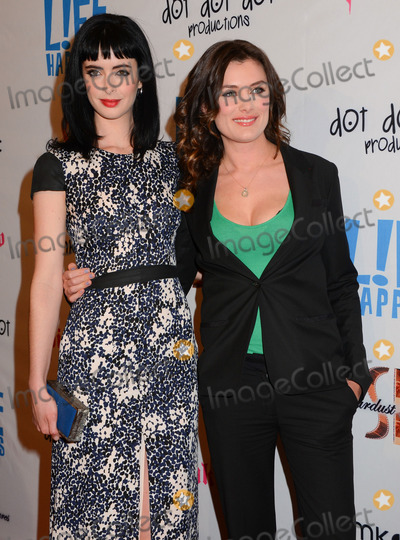 Kat Coiro Photo - 02 April 2012 - Los Angeles CA - Krysten Ritter Kat Coiro Life Happens Los Angeles Premiere held at the AMC Theater in Century City Photo Credit Birdie ThompsonAdMedia