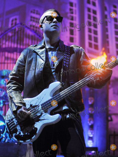 Avenged Sevenfold Photo - 21 May 2011 - Columbus Ohio - Bassist JOHNNY CHRIST of the band AVENGED SEVENFOLD performs as part of the Rock On The Range festival held at Columbus Crew Stadium Photo Credit Jason L NelsonAdMedia