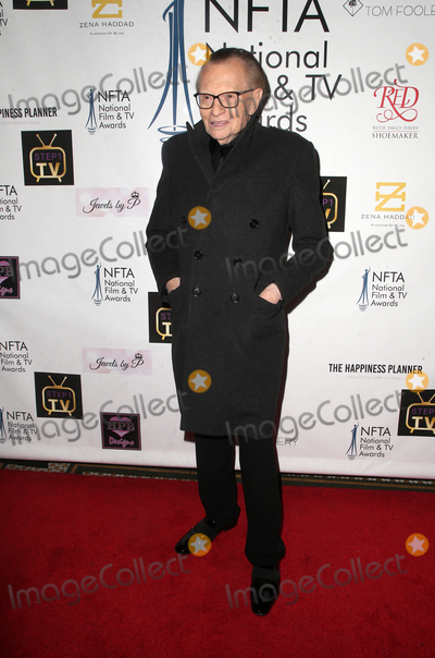 Larry King Photo - 4 December 2018 - Los Angeles California - Larry King The National Film and Television Awards held at The Globe Theatre Photo Credit Faye SadouAdMedia