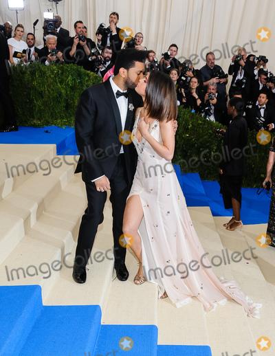 Selena Gomez Photo - 01 May 2017 - The Weeknd Selena Gomez 2017 Metropolitan Museum of Art Costume Institute Benefit Gala at The Metropolitan Museum of Art Photo Credit Christopher SmithAdMedia