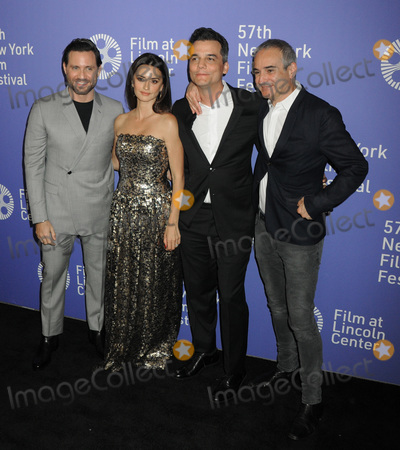 Penelope Cruz Photo - 04 October 2019 - New York New York - Edgar Ramire Penelope Cruz Wagner Moura and  Olivier Assayas 57th New York Film Festival - Wasp Network held at Alice Tully Hall Lincoln Center Photo Credit AdMedia
