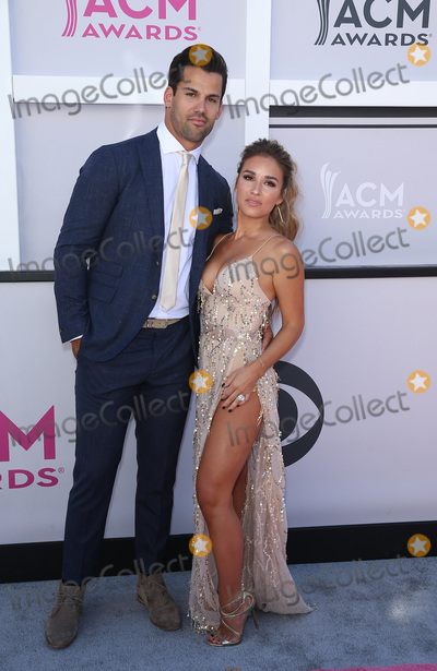 Jessie James Photo - 02 April 2017 - Las Vegas Nevada - Eric Decker Jessie James Decker 2017 Academy Of Country Music Awards held T-Mobile Arena Photo Credit MJTAdMedia