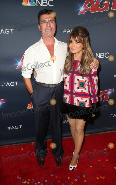 Simon Cowell Photo - 18 September 2019 - Hollywood California - Simon Cowell Paula Abdul Americas Got Talent Season 14 Finale Red Carpet held at Dolby Theatre Photo Credit FSadouAdMedia
