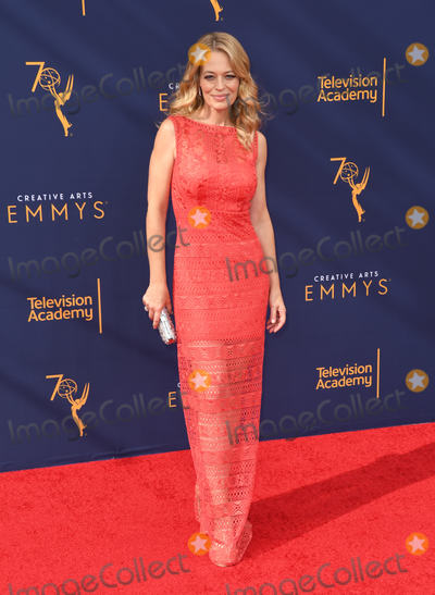 Jery Ryan Photo - 08 September 2018 - Los Angeles California - Jeri Ryan 2018 Creative Arts Emmys Awards - Arrivals held at Microsoft Theater Photo Credit Birdie ThompsonAdMedia