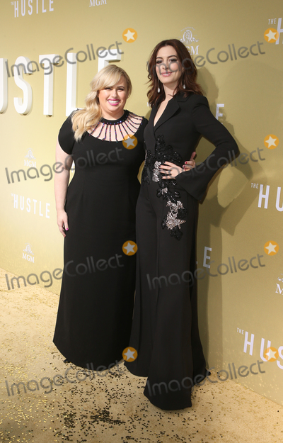 Ann Hathaway Photo - 08 May 2019 - Hollywood California - Rebel Wilson Anne Hathaway Premiere Of MGMs The Hustle  held at The ArcLight Hollywood Photo Credit Faye SadouAdMedia