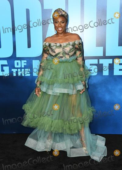 Aisha Hinds Photo - 18 May 2019 - Hollywood California - Aisha Hinds Godzilla King Of The Monsters Los Angeles Premiere held at TCL Chinese Theatre Photo Credit Birdie ThompsonAdMedia
