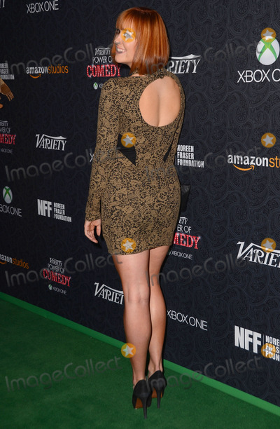 Andrea Bowen Photo - 16 November  2013 -  Hollywood California - Andrea Bowen Celebrity arrivals at the 4th Annual Varietys Power of Comedy event presented by XBox One at The Avalon Hollywood in Hollywood Ca Photo Credit Birdie ThompsonAdMedia