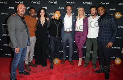 Arlen Escarpeta Photo - 15 January 2018 - Pasadena California -  Joe Halpin Arlen Escarpeta Katrina Law Joseph Julian Soria Eric Berger Elisabeth Rohm Ryan Kwanten Cory Hardrict The Oath Photo Opp with the cast of Crackles new drama series at The Winter TCA Photo Credit F SadouAdMedia