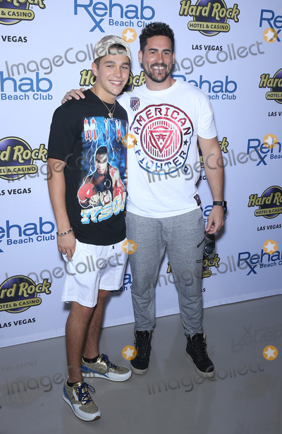 Austine Mahone Photo - 08 April 2017 - Las Vegas Nevada - Austin Mahone Josh Murray Austin Mahone celebrates his 21st birthday at Las Vegas hottest dayclub REHAB Beach Club at Hard Rock Hotel  Casino Photo Credit MJTAdMedia