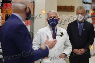 Anthony Fauci Photo - President Joe Biden and Dr Anthony Fauci at the National Institutes of Health on Thursday February 11 2021 in Bethesda Maryland Credit Oliver Contreras  Pool via CNPAdMedia