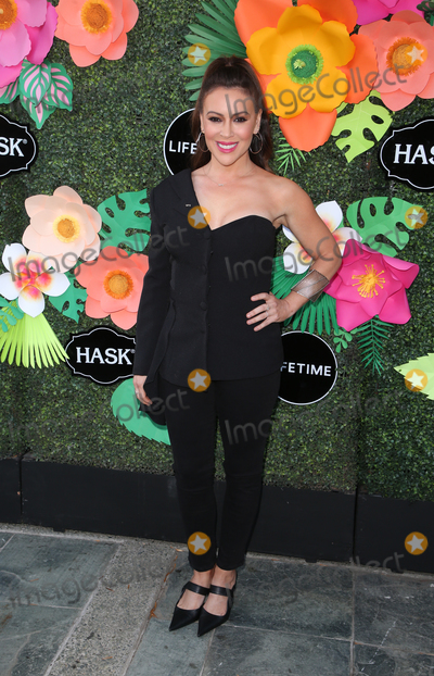 Alyssa Milano Photo - 20 May 2019 - Los Angeles California - Alyssa Milano Lifetimes Summer Luau held at The W Los Angeles Photo Credit Faye SadouAdMedia