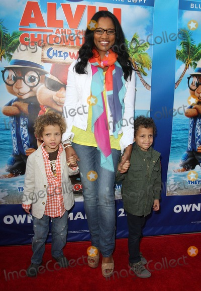Garcelle Beauvais-Nilon Photo - 26 March 2012 - Los Angeles California - Jaid Nilon Garcelle Beauvais Jax Nilon The Twentieth Century Fox Home Entertainments Alvin And The Chipmunks Chipwrecked Blu-ray And DVD Release Party Held At The El Rey Theatre Photo Credit Faye SadouAdMedia