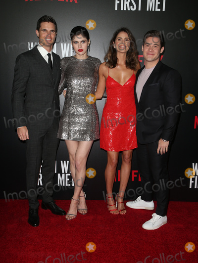 Amel Photo - 20 February 2018 - Hollywood California - Robbie Amell Alexandra Daddario Shelley Hennig Adam Devine Special Screening of Netflix When We First Met held at Arclight Hollywood Photo Credit F SadouAdMedia
