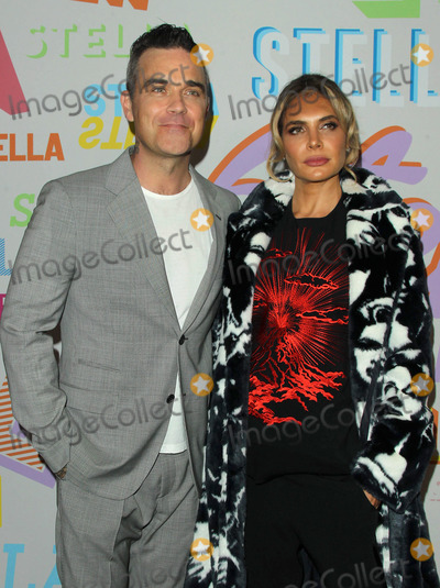 Ayda Fields Photo - 16 January 2018 - Pasadena California - Robbie Williams and wife Ayda Field Stella McCartney Autumn 2018 Presentation held at SIR Studios in Los Angeles Photo Credit AdMedia