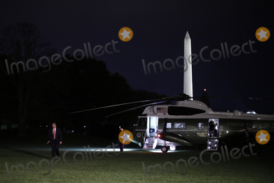 White House Photo - United States President Donald J Trump walks on the South Lawn of the White House upon his return to Washington DC from Georgia on October 16 2020Credit Yuri Gripas  Pool via CNP